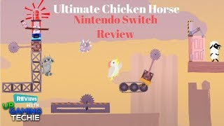 Ultimate Chicken Horse Nintendo Switch Review - Competitive Platformer Action