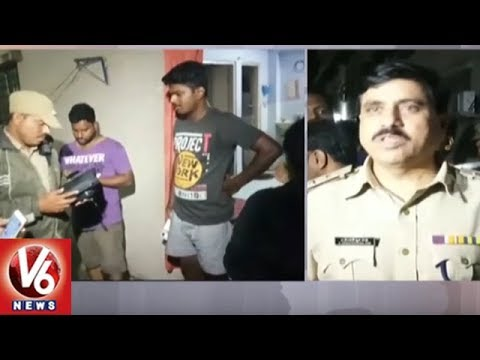 Hyderabad Police Conducts Cordon And Search Operation In Kukatpally, Siezes 18 Bikes | V6 News