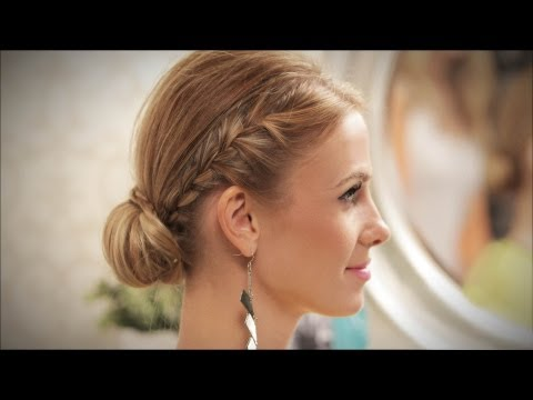 DIY: Edgy, Elegant Updo with CarlieStylez!!