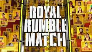 2012 Royal Rumble Full Match Card + Song Download Link