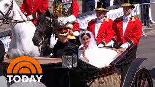 Carriage Procession Carries Duke And Duchess Of Sussex To Greet Adoring Crowds | TODAY
