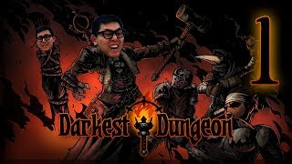 Amaz Plays: Darkest Dungeon - Bloodmoon Difficulty All DLCs P1