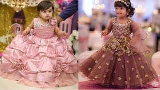 Party wear dresses collection for kids/Frock design ideas for little girls/Indian wedding outfits