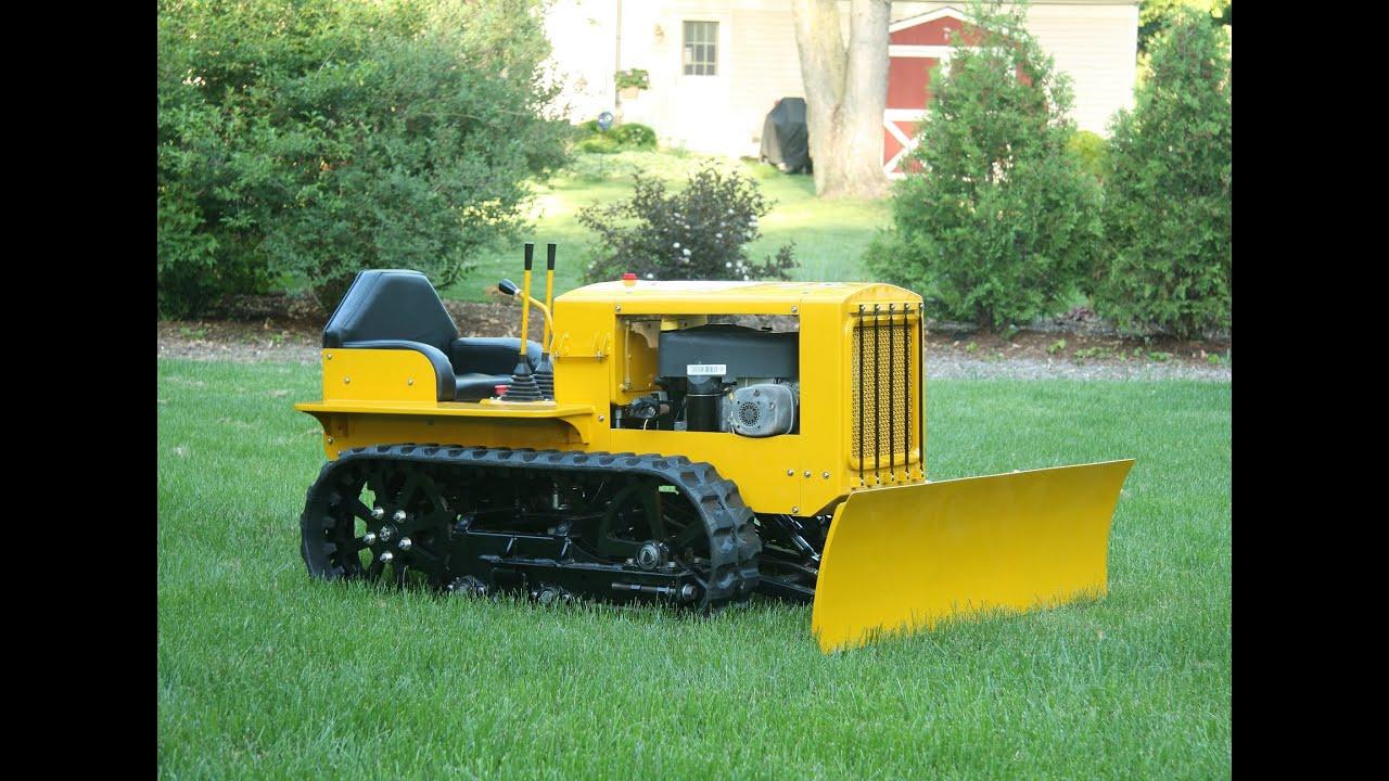 Как сделать трактор своими руками 98