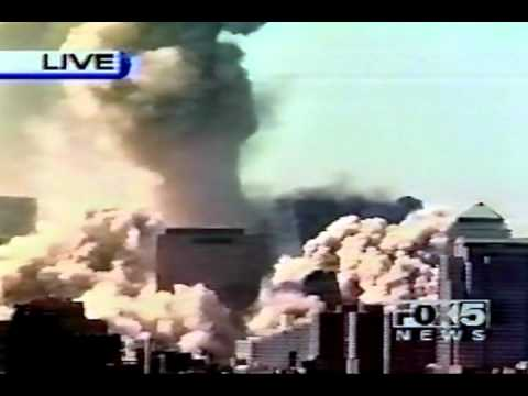 North Tower Collapse - As It Happened Across Networks