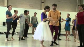 Ballet West's Giselle - From the Rehearsal Studio