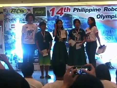 14TH Philippine Robotics Olympiad FINALS/Awarding video