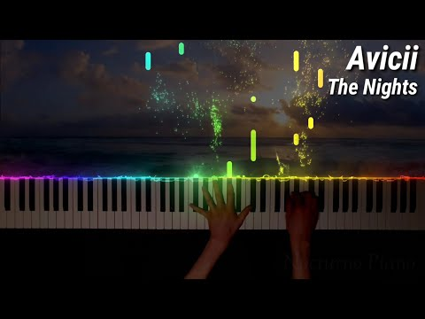 Avicii - The Nights (Piano Cover & Tutorial)