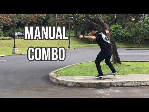 TECH MANUAL COMBO - Treflip Nosemanual to Manual to Nosemanual Nollie Flip Out