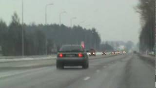 Audi s2 on the way to gaiziunai