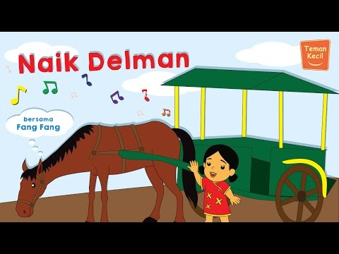 Lagu Anak Indonesia naik Delman Bersama Fang-fang video