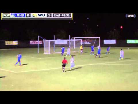 2014 Wingate Men's Soccer - Highlights from 4-0 win against Mars Hill