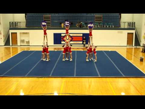 Pleasant Plains High School Cheerleading Competition Jan 21, 2012