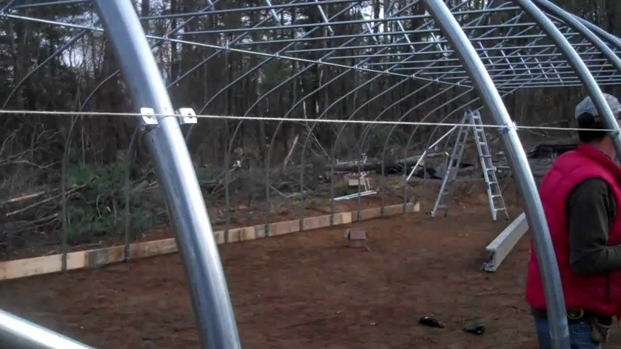 How To Build A Greenhouse Step 16 Preparing To Install