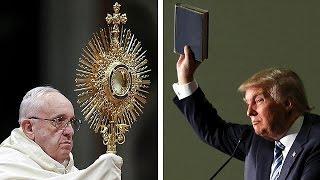 Le pape François critique Trump, le milliardaire réplique
