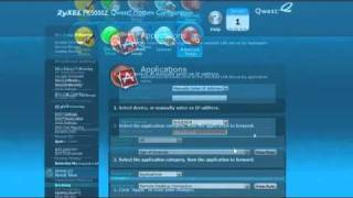 How to do Application Forwarding on your Qwest PK5000Z Wireless Router