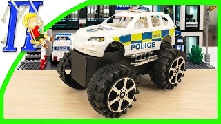 Special equipment for children Police Jeep