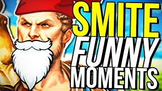 HOW TO SMURF! (Smite Funny Moments)