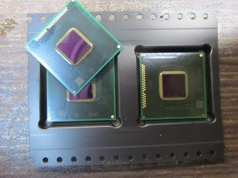 Как отличить новый BGA чип от бу с помойки. После замены чипа не включается.