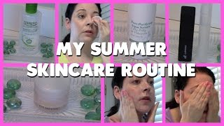 My Summer Skincare Routine 2015 | All Drugstore Products!