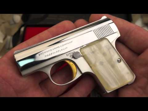 Baby Browning 25ACP Semi Auto Pocket Pistol Review -Texas Gun Blog