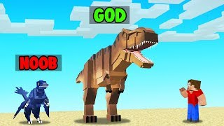 Minecraft NOOBS vs DINOSAURS Mod (help)