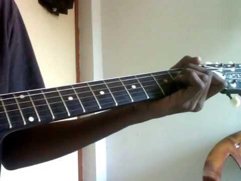 Newyork nagaram guitar chords lesson