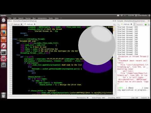 Scapy / Kivy-Tut-10 (Using hostnames part 2)