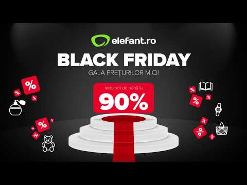 Black Friday la elefant.ro - 16:9 - Barbati - V1