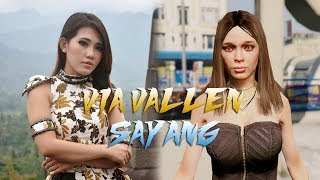 "Via Vallen "" Sayang ""  ( GTA 5 Video Cover)"
