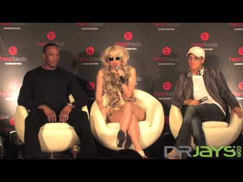 Heartbeats by Lady Gaga press conference with Lady Gaga, Dr. Dre, Jimmy Iovine and Noel Lee