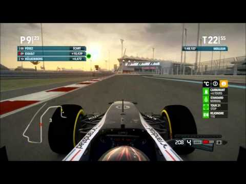 F1 Racing Live - 2x18 @ Abu Dhabi - Online race on F1 2012 PS3 - Full Race HD - onboard Elthib