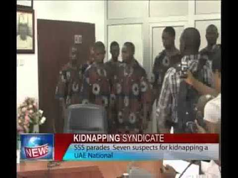 Kidnapping Syndicate-SSS Parades Seven for Kidnapping UAE National.flv
