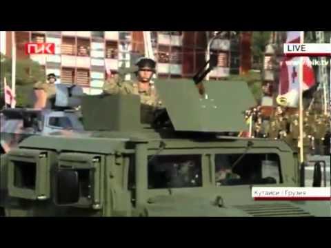 Грузинская армия Caucasian army 2012