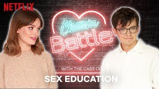 Flirting with British Accents: Sex Education | Charm Battle | Netflix