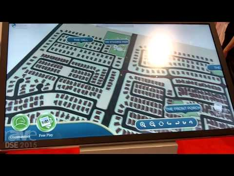 DSE 2015: 22 Miles Shows Custom 3D Real Estate Wayfinder