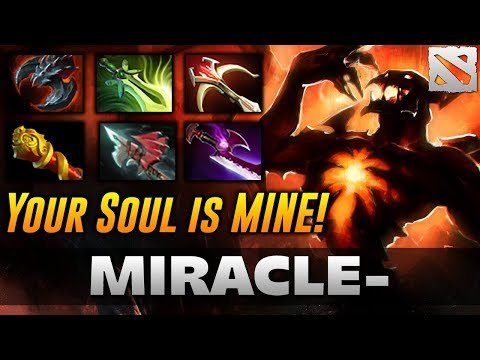 MIRACLE SF HARD CARRY Highlights Dota 2