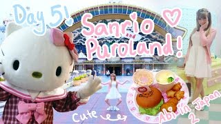 HELLO KITTY THEME PARK?!? | Day 5 - Sanrio Puroland ? | Abipop in Japan 2015 ?