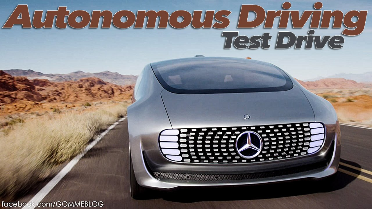 Mercedes Benz F 015 Luxury in Motion | TEST DRIVE | CES ...