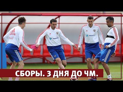 Сборы. 3 дня до ЧМ l РФС ТВ
