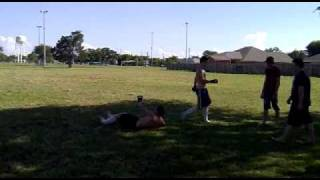 Backyard MMA. K.O!!