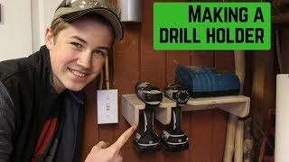 Making a Drill Holder