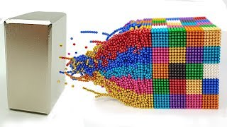 Playing with 60 000 Magnetic Balls ⭐ Slow Motion ⭐ 100+1% Satisfying Video