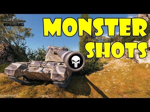 World of Tanks - Funny Moments | MONSTER SHOTS! (WoT Ammo Rack, June 2018)