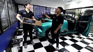 C-HR ฝาท้ายไฟฟ้าพร้อม iLift By Auto Lift Tech