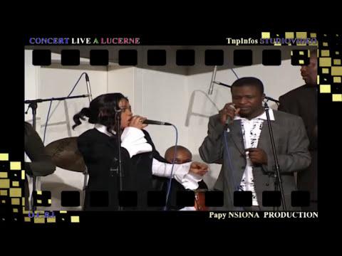CONCERT LIVE A LUCERNE N°5 PATIENCE MVANGA THOMAS LOKOFE MBUTA KAMOKA