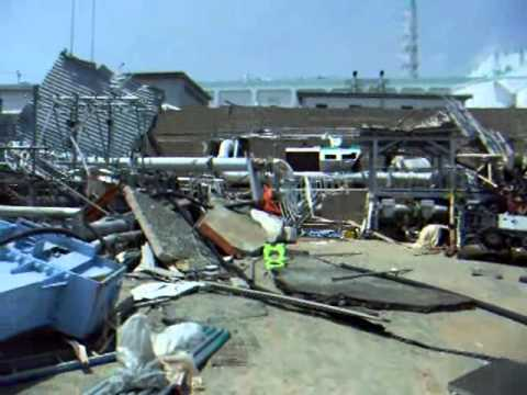Outside damage by Tsunami of Unit 5 and 6 May 26, 2011
