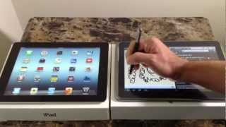 iPad  Vs Samsung Galaxy Note 10.1