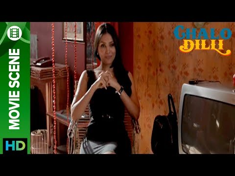 Lara Dutta Looks Smoking Hot In Black Dress - Chalo Dilli
