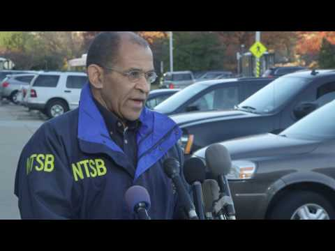 NTSB Chairman Hart Briefs Media on Chattanooga Accident 1